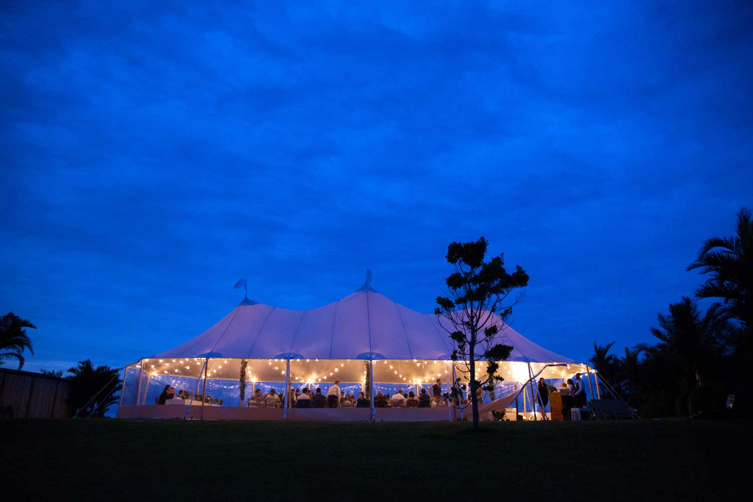 Marquee at Horizon Byron Bay