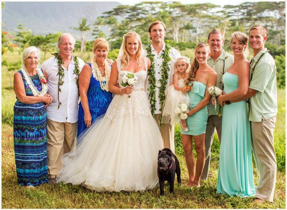 bethany hamilton family wedding photo